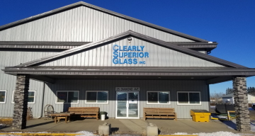 Clearly Superior Glass - Outside Shop